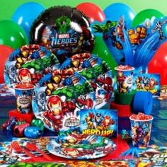 Marvel Super Heroes Birthday Party Supplies