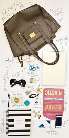 What's in my bag | Klury.com Work Bag Edition