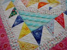 Free pattern - love the quilting Moda Bake Shop: Quilting Bee Sampler Quilt @ModaFabrics