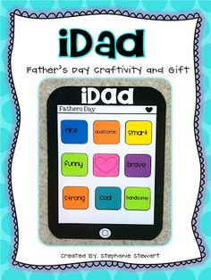 iDad- Techy Father's Day student gift!