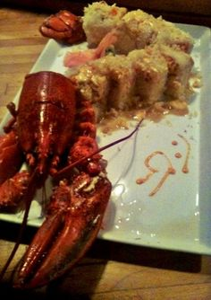 Lobster Roll at Nakato- Springfield, MO