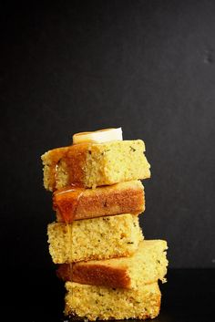 Brown Butter Rosemary Orange Cornbread by joythebaker #Coronbread #Brown_Butter