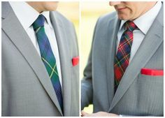 Plaid Wedding Style