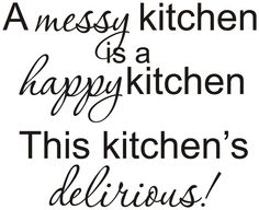 Oh this is my kitchen!