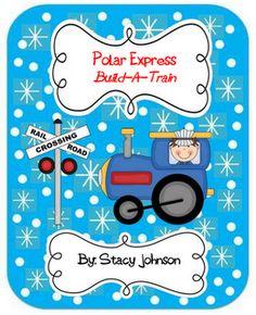 FREE Polar Express: Build-A-Train