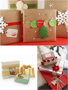wedding in italy: Christmas gift wrap ideas