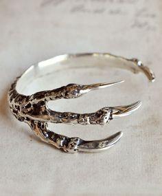 Silver Talon Cuff