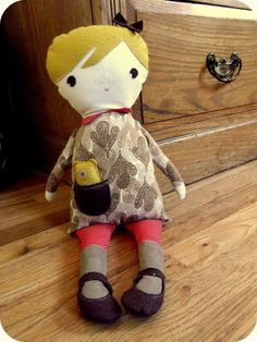 sweetest little edith rag doll / etsy $72