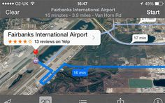 Yay Apple! Be sure you look both ways and UP before you cross the runway!