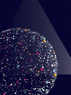 Cosmos by Verónica De Fazio, via Behance