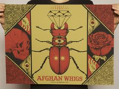 Afghan Whigs Detroit 2012 poster