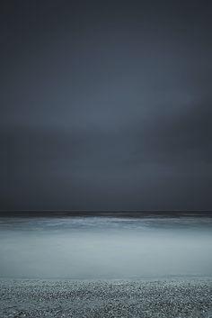 water, grey sky, blue, colors, the ocean, art, beach, storm clouds, grey sea