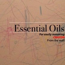 Did you know you can use essential oils to get crayon off of your walls? I had no idea! Great tips and tricks with oils on this website!! #essentialoils healingwithoil.com