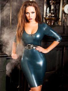 latex girls  and latex catsuits girls dress