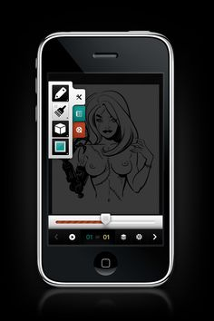 iPhone Application (Sneak Preview) by Emile Rohlandt, via Behance