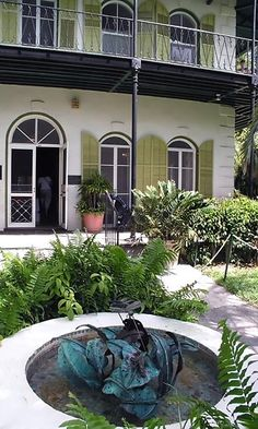 Ernest Hemingway's home in Key West, FL.