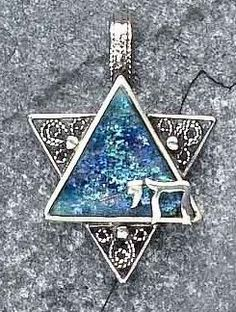 I really like this. A Roman Glass - Chai Star of David I really really want this one