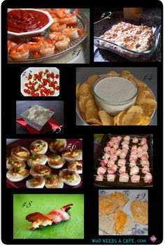 Best holiday appetizers ~ Who Needs a Cape?