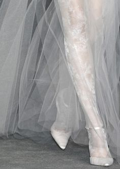the most beautiful bride's legs.  christian lacroix haute couture spring/summer 2009