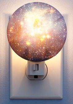 Galaxy You Later Night Light by Kikkerland