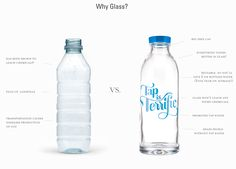Why Glass? ... These are awesome. No more leached chemicals.