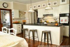 Primitive & Proper: farmhouse style white kitchen