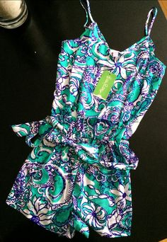 New Lilly romper! WANT SO MUCH!