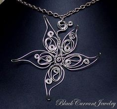 Silver Star by blackcurrantjewelry on deviantART