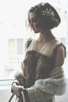 hair clips, vintage, hair pieces, star, the dress, soft light, hair accessories, fashion women, photographi