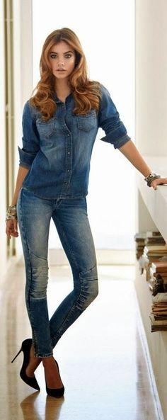 Barbara Palvin for Mavi Jeans 2013