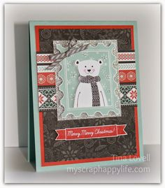 My Scrap Happy Life: October Stamp of the Month Blog Hop: Home For The Holidays