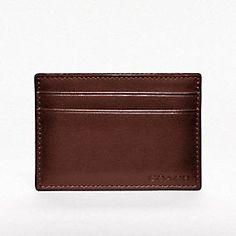 BLEECKER LEGACY MONEY CLIP CARD CASE