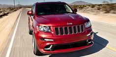 2012 jeep grand cherokee srt8 (back seat and ride were so very comfortable)