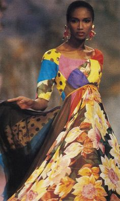 Christian Lacroix Spring/Summer 1989