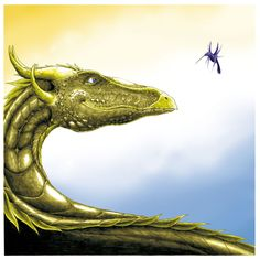 The Dragon and the Hummingbird by ~EmiAlvarez on deviantART