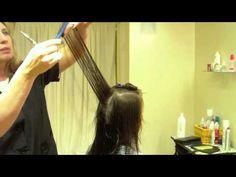 Long Layered Haircut, Fine Textured Hair: Hair Tutorial