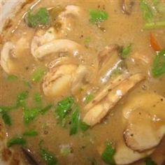 Slow Cooker Chicken with Mushroom Wine Sauce..check out clean mushroom soup recipe on gracious pantry.com to avoid using canned soup