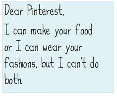 Skinny jeans or foodarama? #pinterestproblems