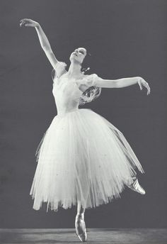 Yvette Chauviré - Giselle. She would coach Sylvie Guillem.