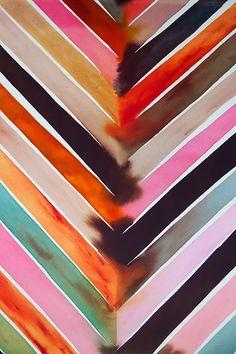 Chevron Bleed - Luli Sanchez