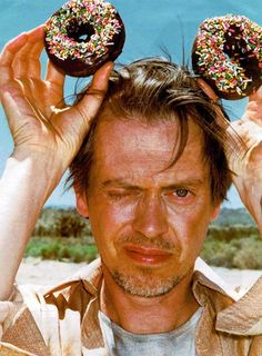 steve buscemi mickey        Two of our favorite things…Doughnuts and Park Slope resident Steve Buscemi.