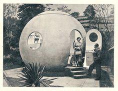 1959 Das Haus, Juni Ludowici Rundhaus by diepuppenstubensammlerin, via Flickr