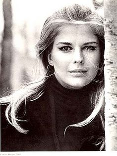 A young Candice Bergen.  So beautiful.