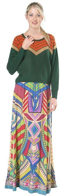 Bohemian Maxi Skirt from Flying Tomato!