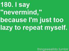 So me!