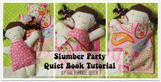 Slumber Party Quiet Book Page