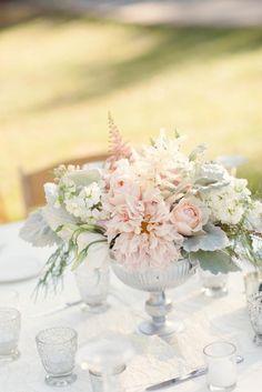 #wedding #centerpiece #blush