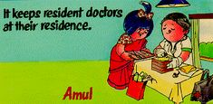 It keeps resident doctors at their residence.