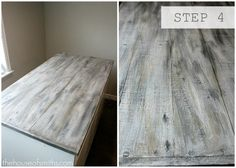 Faux Barn Wood Painting Tutorial