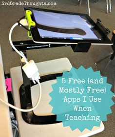 3rd Grade Thoughts: 5 Free {and Mostly Free} Apps I Use When Teaching